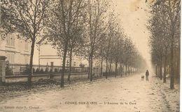 CPA-1905-03-COSNE Sur L OEIL-AVENUE De La GARE-TBE- - Sonstige Gemeinden