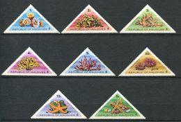 220 MALDIVES 1975 - Yvert 533/40 - Faune Et Flore Marines - Neuf **(MNH) Sans Charniere - Maldives (1965-...)