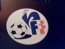 Autocollant Ancien Publicitaire  Slogan FFF Federation Francaise De Football - Stickers