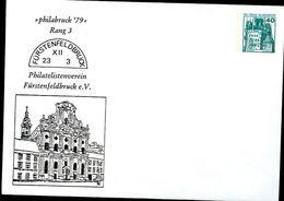 Bund PU110 C2/001 Privat-Umschlag KLOSTER FÜRSTENFELDBRUCK  1979 - Klöster