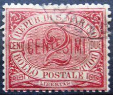St MARIN              N° 26                OBLITERE - Saint-Marin