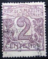 St MARIN              N° 34                OBLITERE - Oblitérés