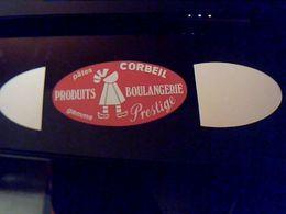Autocollant  Publicite Non Utilisé Produit Boulangerie  Pate  Corbeil - Stickers