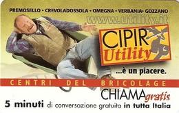 *CHIAMAGRATIS - N.356 - CIPIR UTILITY* - Scheda NUOVA (MINT) (MASTER) - Italia