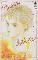 Télécarte Japon / 110-011 - MANGA - MARGARET By MARIKO IWADATE - ANIME Japan Phonecard - 10178 - BD