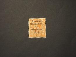 IRLANDA- 1922 RE 2 P. - NUOVO(+) - 1922-37 Stato Libero D'Irlanda