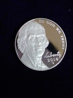 2014 Proof Jefferson Nickel - Federal Issues