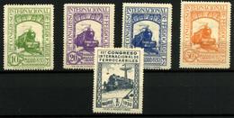 2110- España Nº 472, 474 Y 477/9 - 1889-1931 Kingdom: Alphonse XIII