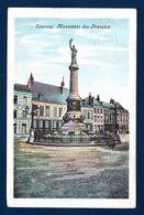 Tournai. Monument Aux Français. Place De Lille ( Sculpteur C. Debert- 1897). 1906 - Monuments Aux Morts