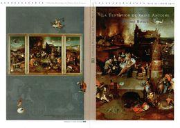 """"""" LA TENTATION DE SAINT ANTOINE """" Document Philatélique Officiel 1er Jour De 4 Pages De 2012 N°YT F4689.Parfait état DPO - 2010-...."""