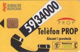 TARJETA TELEFONICA DE ESPAÑA USADA. 11.97 (396). - Spain