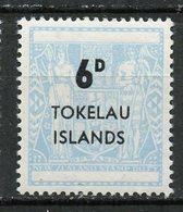 Tokelau 1966 6p Coat Of Arms Issue  #6 - Tokelau