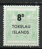 Tokelau 1966 8p Coat Of Arms Issue  #7 - Tokelau
