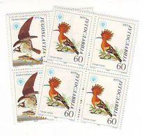 YUGOSLAVIA 2100-2101,unused - Birds