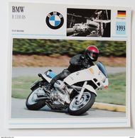 Fiche Technique MOTO Allemagne  1993 BMW R 1100 RS - Motor Bikes
