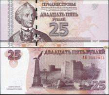 Transnistria 25 Rubles 2007 UNC - Bankbiljetten