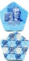 Transnistria 5 Rouble 2014 UNC COMPOSITE PLASTIC - Moldavie