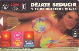 TARJETA TELEFONICA DE ESPAÑA USADA. 04.97 (407). DEJATE SEDUCIR. - Spain