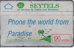 SEYCHELLES ISL. - Phone The World From Paradise, CN : 910G, Tirage 12000, Used - Seychellen