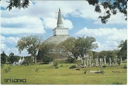 Sri Lanka (Ceylon) - Ruvanveliseya Dagaba,Anuradhapura - Sri Lanka (Ceylon)