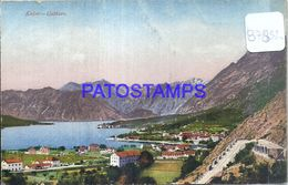 87832 MONTENEGRO CATTARO KOTOR VIEW PANORAMA POSTAL POSTCARD - Montenegro