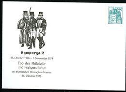 Bund PU110 D2/018 Privat-Umschlag POSTILLIONE LYMPURGA LIMBURG 1978 - Post