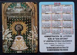CALENDARIO 2018. VIRGEN DEL PILAR. - Calendarios