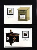 Deutschland / Germany DDR 1985 Historische Briefkaesten Michel 2924-27 Maximumcards - Post