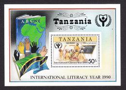 Tanzania, Scott #688, Mint Never Hinged, Adult Education, Issued 1991 - Tansania (1964-...)