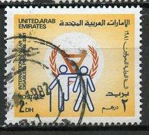 UAE 1981 2d Disabled Issue  #141 - Emirats Arabes Unis
