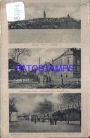 87853 SERBIA BELGRADE GATEWAY & ZIMONY & KHUEN HEDERVARY STREET  MULTI VIEW POSTAL POSTCARD - Serbie