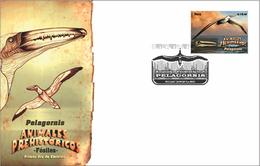 Peru 2017 FDC Prehistoric Fauna Pelagornis - Fossils