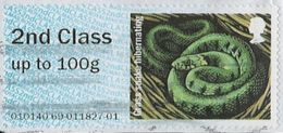 GB 2016 Hibernating Animals 2nd Type 1 Issuing Code 010140 Used [32/120/ND] - Great Britain