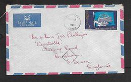 Zambai  Air Mail 1/3 W.H.O. , CHINGOLA ...1966 > England - Zambia (1965-...)