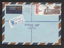 S.Africa Registered Domestic Air Mail, 50 Cents, PRETORIA 21 XI 83  > ANERLEY 22 XI 83, - Covers & Documents