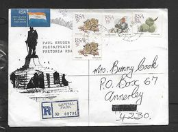 S.Africa Registered Domestic Air Mail,r1.45,CAPITAL PARK 8 X 90 > ANNERLEY  11 X 90 - Covers & Documents