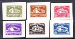 US CUT  SQUARE  U 523-8    *   1932  ISSUE - Postal Stationery