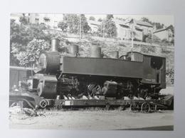 FRANCE TULLE (19) : Locomotive  Vapeur POC MALLET 030+030T 41 Au Départ Pour Le RESEAU BRETON En Juillet 1953 - BVA 644 - Trains