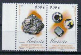 TAAF 'Mineralien, Ilmenit' / FSAT 'Minerals, Ilmenite' **/MNH 2018 - Minerals