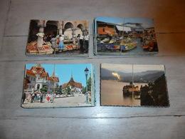 Grand Lot De 200 Cartes Postales Semi - Modernes Petit Format En Couleurs Du Monde    200 Gekleurde Kaarten Wereld Kl.f. - Cartes Postales