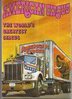 Publicité , CIRQUE , AMERICAN CIRCUS , 1984, Programme, + De 40 Photos,14 Pages , 5 Scans,  , Frais Fr 2.85 E - Advertising
