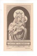 Z.E.P. STANISLAS VAN JEZUS ....CAMIEL BRUTSAERT ° NIEUWKAPELLE 1880 + GENT 1956 - Devotion Images