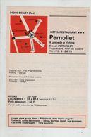 Publicité 1976 Belley Pernollet Lavaret Foie écrevisses Filet Truffé - Advertising