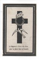 DOMINICUS DE CRAECKER ° LEDE  ALDAAR OVERLEDEN 1880 IN DE OUDERDOM VAN 57 JAREN - Devotion Images