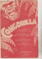 (GB21) CONGORILLA  , Paroles GEORGES PHILIPPOT , Musique L E FRANCESCO - Scores & Partitions