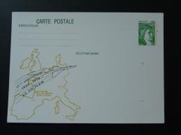 33 Gironde Eysines Ascoflam Concorde Entier Postal Sabine De Gandon Stationery Card - Bijgewerkte Postkaarten  (voor 1995)