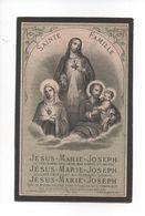 EGIDIUS COLLETTE + KERNIEL 1883  IN DE OUDERDOM VAN 58 JAREN - Devotion Images