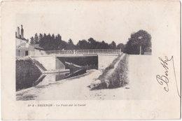 89. BRIENON. Le Pont Sur Le Canal. 4 - Brienon Sur Armancon