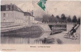 89. BRIENON. Le Pont Canal - Brienon Sur Armancon