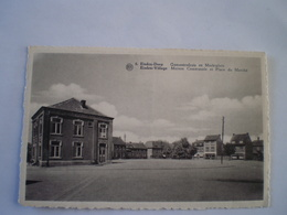 Eisden Dorp (Maasmechelen) Gemeentehuis En Marktplein 19?? - Maasmechelen
